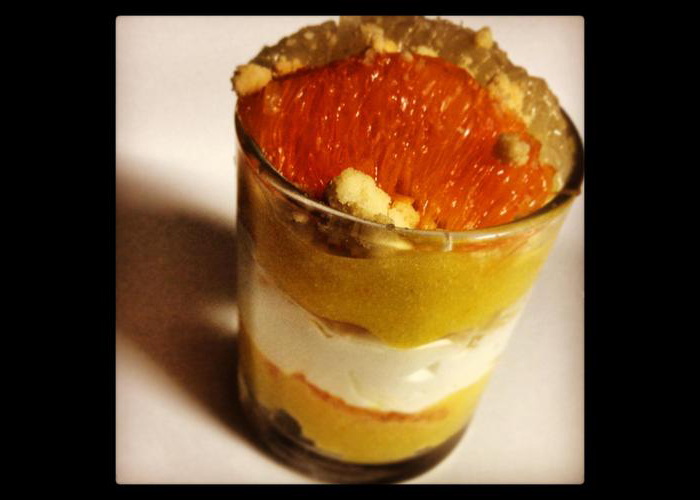 Tender Greens | Cookbook | Grapefruit and Cara Cara Orange Trifle