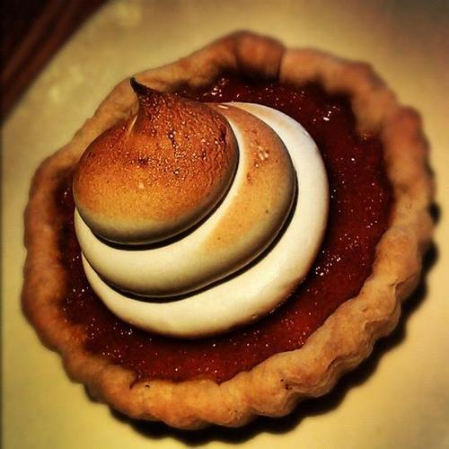 Tender Greens | Cookbook | Sweet Potato Tart with Toasted Marshmallow Cream