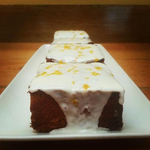 Tender Greens   Cookbook   Meyer Lemon Almond Cake with Creme Fraiche Icing