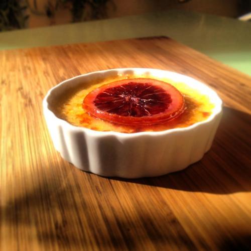 Tender Greens | Cookbook | Blood Orange Creme Brulee